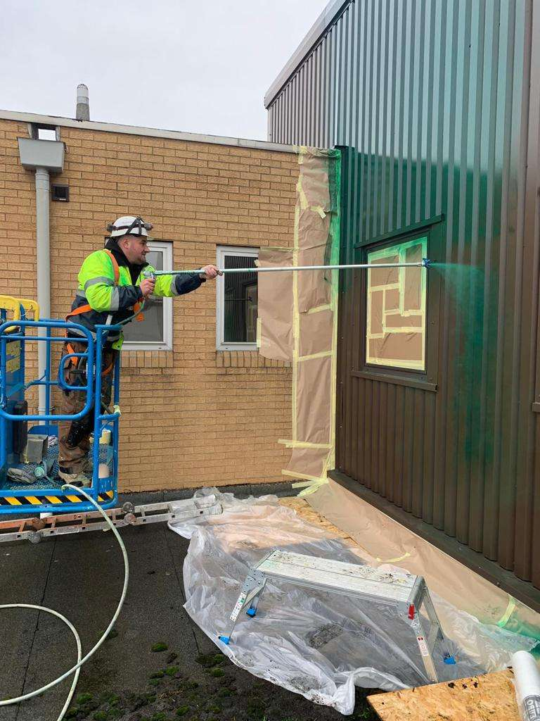 cladding panel repairs | CJ Coatings Nationwide