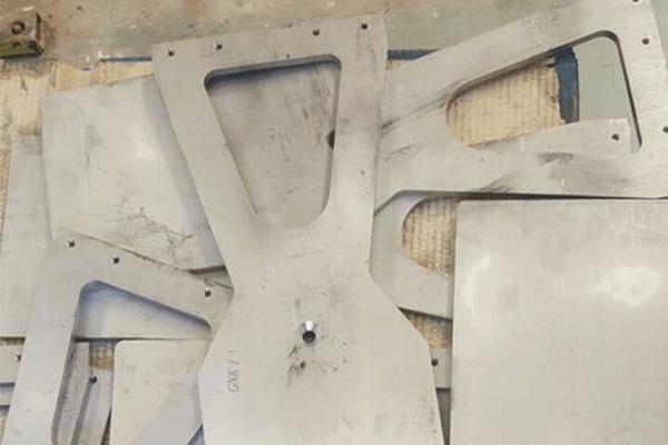 Brackets before coatings