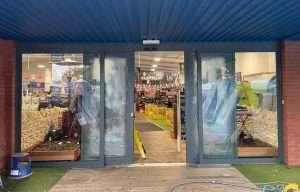 Go Outdoors Shopfront Respray