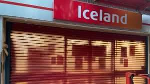 Iceland Store makeover